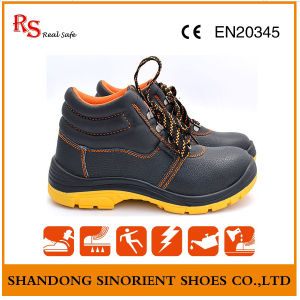 Chemical Resistant Safety Work Shoes on Oil Field RS801 pictures & photos