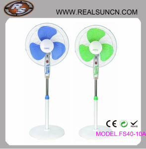 Top Selling 16inch Stand Fan / Pedestal Fan with Light pictures & photos