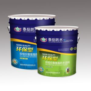 Two-Component Polyurethane Waterproof Coating with ISO 9001 pictures & photos