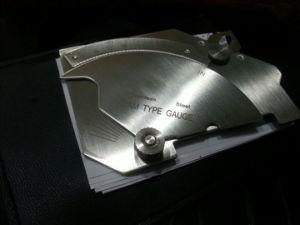 Cam Type Welding Gauge
