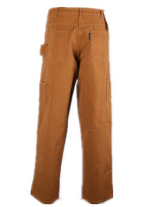 Tan Color Mens Cotton Work Casual Pants with Canvas Fabric pictures & photos
