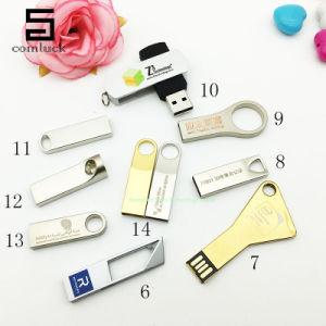 USB Flash Drive OEM USB Stick Print Logo USB Flash Disk Pen Drive Mini Metal USB Flash Drive USB Memory Thumb Flash Card pictures & photos