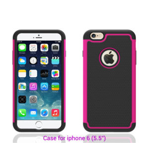 Mobile Covers for iPhone6 Plus, Silicone Mobile Case for iPhone Cover pictures & photos
