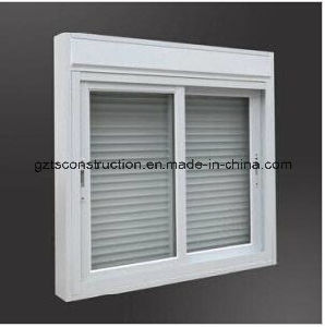 Aluminum Sliding Window with Shutter pictures & photos