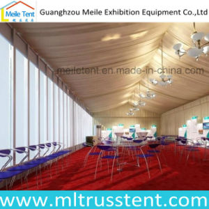 Snowproof White Roof Top Glass Wall Wedding Marquee Tent 10m*30m pictures & photos