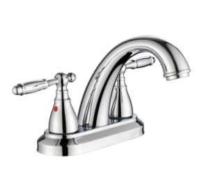 Zf-Bf014 Old-School Style Two Handle Basin Faucet pictures & photos