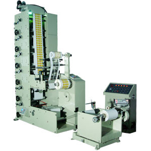 Flexo Printing Machine of Label Film (RY-320-6C) pictures & photos