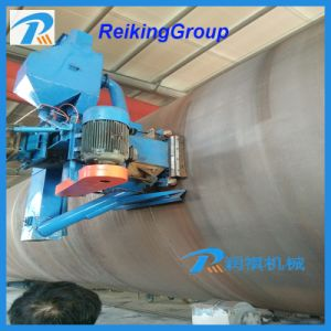 Quality Steel Tube and Pipe Internal and Extenernal Surface Shot Blasting Cleaning Machine pictures & photos