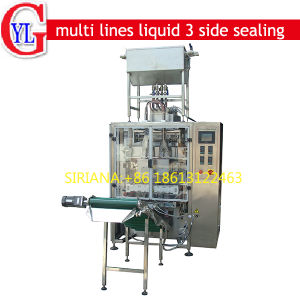 Multi Lines 3 Side Sealing Sachet Liquid Ketchup Sauce Packing Machine pictures & photos