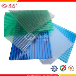 Double Color Daylighting Twin Wall Polycarbonate Sheet (YM-PC-149) pictures & photos