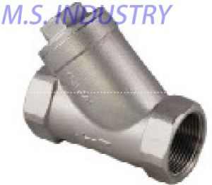 Stainless Steel Y-Spring Check Valve