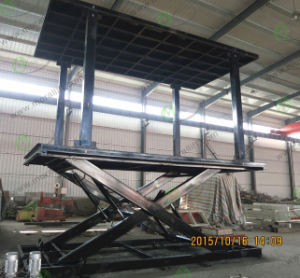 Hydraulic Car Lift with Double Platform (SJG) pictures & photos