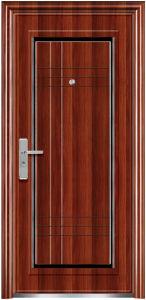 Factory Economic Flush Design Steel Door (EF-S020) pictures & photos