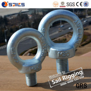 Galvanized Drop Forged Eye Bolt pictures & photos