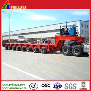 200 Tons Low Bed 8 Lines Modular Hydraulic Trailers pictures & photos