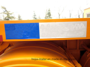 Three Axle 20FT Container Dump Semi Truck Trailer/Tipper Trailer pictures & photos