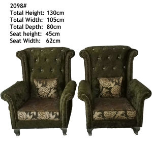 High Quality Tiger Chair Fabric Sofa Chair (2098) pictures & photos