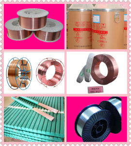 TUV dB Certificates D270 Spool 15kg Copper Free Welding Wire Er70s-6 pictures & photos