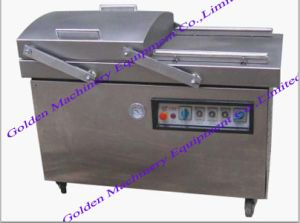 Double Chamber Hardware Food Vacuum Packing Packaging Machine pictures & photos