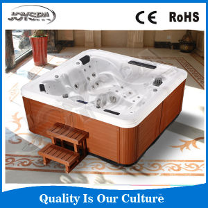 Newly Design 5 Person Outdoor SPA with 7 Color LED Light pictures & photos