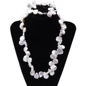 Snh Fashion Real Culture Pearl Wedding Jewelry Set Bridal