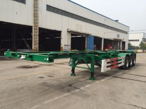 40FT Skeleton Container Chassis pictures & photos