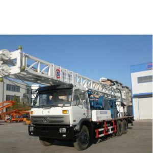 Truck Mounted with Water Well Drilling Rig
