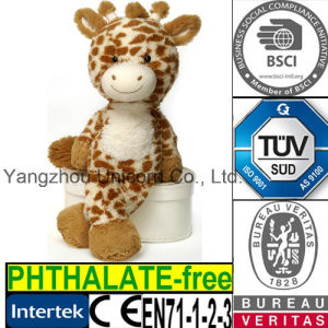 CE Baby Gift Soft Stuffed Animal Plush Toy Giraffe