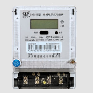 One Phase Two Wire Digital Electrical Power Meter pictures & photos