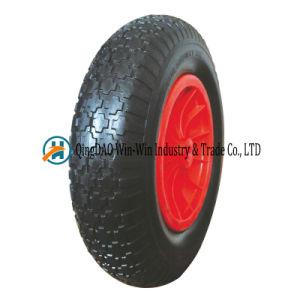 PU Wheelbarrow Wheels 4.80/4.00-8 Trolley Wheels Heavy Duty pictures & photos