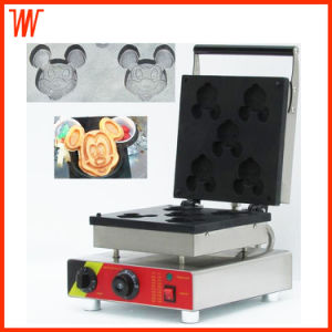 Electric Mickey Waffle Cake Machine pictures & photos