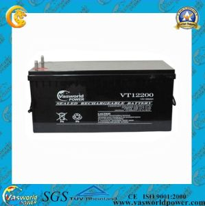 12V150ah Lead Acid Rechargeable Solar Battery pictures & photos