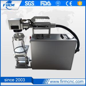 Fiber Laser Marking Machine for Plastic Rubber Aluminum pictures & photos