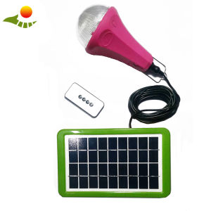 Hot 12V Low Cost Home Portable Solar Panel Kit Solar Lighting Kit with 4 Bulbs pictures & photos