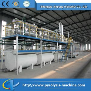 CE and ISO Certificate Waste Tire Pyrolysis Plant pictures & photos