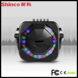8′′inch Super Power Speaker with LED Light Microphone pictures & photos
