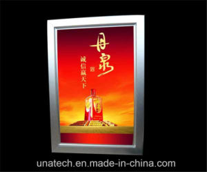 Indoor Public Bar Store Train Subway Display Advertising Indoor Billboard LED Slim Lightbox pictures & photos