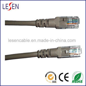 Cat5e UTP Patch Cord with Copper or CCA or CCS Conductor pictures & photos