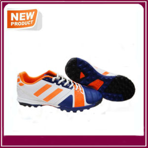 Men′s Sport Athletic Indoor Lace up Soccer Shoes pictures & photos