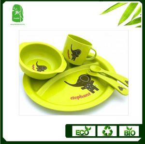 High Quality Bamboo Fibre Children Dinnerware (BC-BB-SU2001) pictures & photos