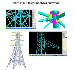 Export Single Pole Transmission Tower pictures & photos