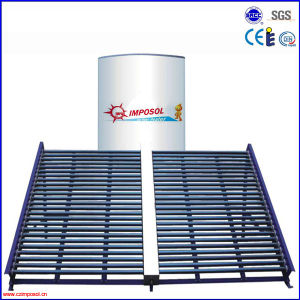 Non Pressurized Solar Collector Project for Home/School/Hotel pictures & photos