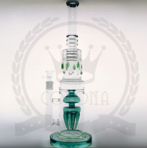 Corona T13 Tobacco Recycler Tall Color Bowl Glass Craft Ashtray Glass Pipes Heady Beaker Bubble Glass Water Pipe pictures & photos