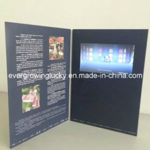 Custom Video Exhibition Invitation Card pictures & photos