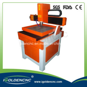 Metal Engraving Machine Igm6060 for Copper Iron Aluminum pictures & photos