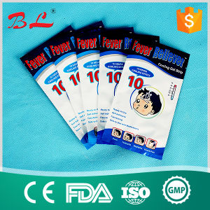 Cooling Gel Patch Headache Fever Cold Pain Stress Relief Kid Adult 10 Hours pictures & photos
