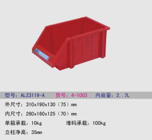 Warehouse Stackable Storage Plastic Bin pictures & photos
