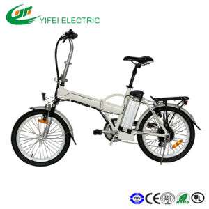 20inch Electric Bike with Lithium Battery Foldable pictures & photos