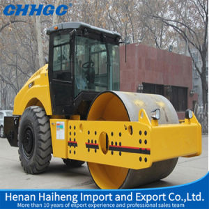 Hot Sale 21t Heavy Big Smooth Single Drum Roller pictures & photos