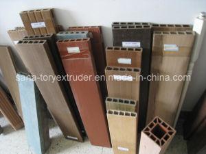 PVC Wood Plastic WPC Profile Extrusion Production Line pictures & photos